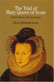 Cover of: The Trial of Mary Queen of Scots