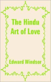 Cover of: The Hindu Art of Love | Edward Windsor