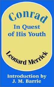 Cover of: Conrad in Quest of His Youth | Merrick, Leonard