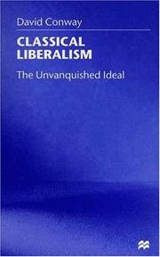 Cover of: Classical Liberalism | David Conway