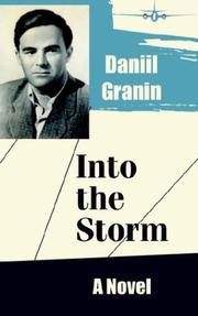 Cover of: Into the Storm | Daniil Granin