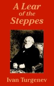 Cover of: A Lear of the Steppes | Ivan Sergeevich Turgenev