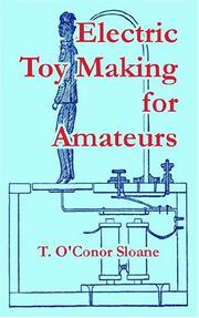 Cover of: Electric Toy Making For Amateurs