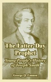 Cover of: The Latter-Day Prophet