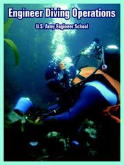 Cover of: Engineer Diving Operations