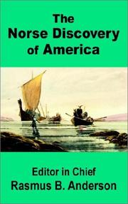 Cover of: The Norse Discovery of America