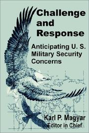 Cover of: Challenge and Response | K. P. Magyar