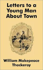 Cover of: Letters to a Young Man About Town