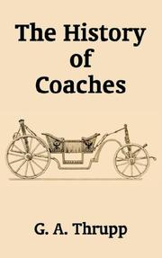 Cover of: The History of Coaches