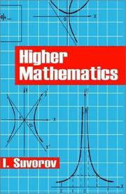 Cover of: Higher mathematics