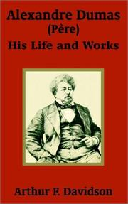 Cover of: Alexandre Dumas