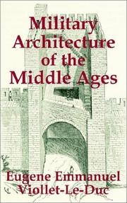 Cover of: Military Architecture of the Middle Ages
