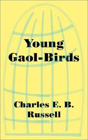 Cover of: Young Gaol-Birds