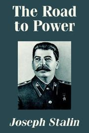 Cover of: The road to power