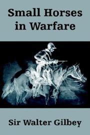 Cover of: Small Horses in Warfare
