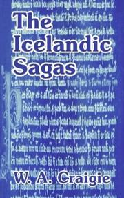 Cover of: The Icelandic Sagas