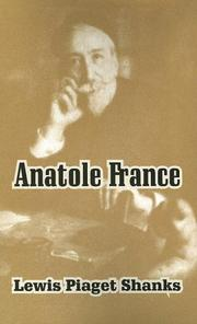 Cover of: Anatole France