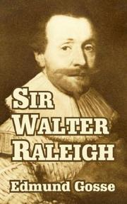 Cover of: Sir Walter Raleigh