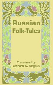 Cover of: Russian Folk-tales