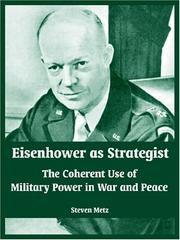 Cover of: Eisenhower As Strategist | Steven Metz