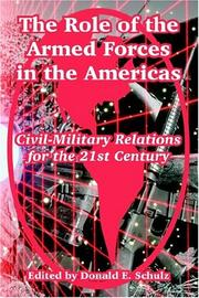 Cover of: The Role Of The Armed Forces In The Americas