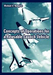Cover of: Concepts of Operations for a Reusable Launch Vehicle | Michael A. Rampino