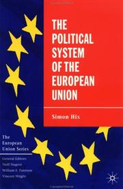 Cover of: The Political System of the European Union (The European Union) | Simon Hix