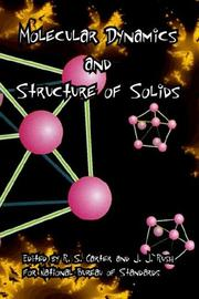 Cover of: Solids and its structure