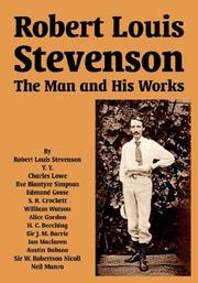 Cover of: Robert Louis Stevenson by Robert Louis Stevenson