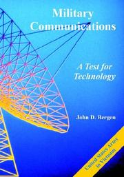 Cover of: Military Communications