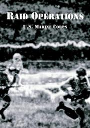 Cover of: Raid Operations | United States Marine Corps