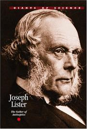 Cover of: Giants of Science - Joseph Lister (Giants of Science)