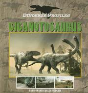 Cover of: Giganaotosaurus (Dinosaur Profiles)