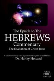 Cover of: The Epistle to the Hebrews Commentary