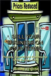 Cover of: Sell Your Business on Your Terms