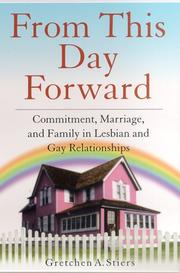 Cover of: From This Day Forward | Gretchen A. Stiers