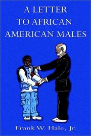Cover of: A Letter to African American Males