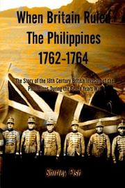 Cover of: When Britain ruled the Philippines, 1762-1764 | Shirley Fish