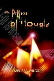 Cover of: A Prism of Thought