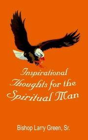 Cover of: Inspirational Thoughts for the Spiritual Man