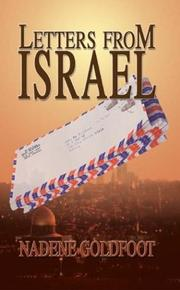 Cover of: Letters From Israel