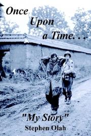 "Cover of: Once Upon a Time. . .""My Story"""