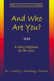 Cover of: And Who Are You? A Daily Regimen for the Soul