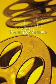 Cover of: Celebrity Poems & Memoirs