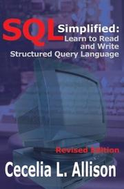 Cover of: SQL Simplified