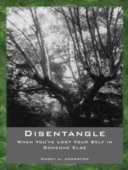 Cover of: DISENTANGLE