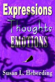 Cover of: Expressions Thoughts Emotions