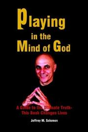 Cover of: Playing in the Mind of God