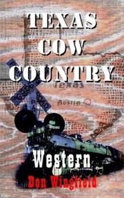 Cover of: Texas Cow Country