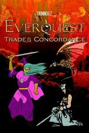 Cover of: Everquest Trades Concordance